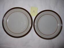 2 MSI Brown Monterrey Bread & Butter Plates - 6 1/4 inch Diameter