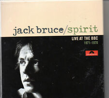 Jack Bruce - Spirit - Live at the BBC 1971-1978 (3 CD Box Set)