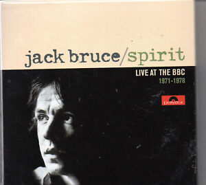 Jack Bruce - Spirit - Live at the BBC 1971-1978 (3 CD Box Set)