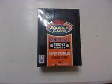 1992-93 Topps Stadium Club Basketball Series 1 Box Jordan