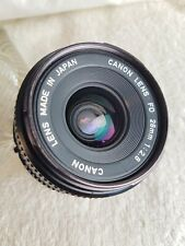 Canon 28mm f2.8 Lens in FD Mount.