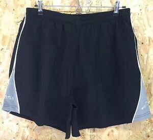 Unisex Black sports shorts tennis, squash, badminton
