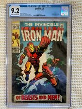 1969 Iron Man #16 CGC 9.2 Nick Fury, Unicorn and Red Ghost Appearance