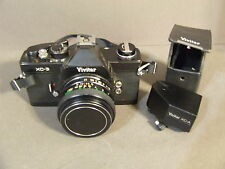 VINTAGE VIVITAR XC-3 35MM FILM WITH F/1.7 50MM LENS AND AUTO EXP. ATTACHMENT