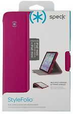 Speck Stylefolio Tablet Case - iPad Mini Retina Pink/ Nickel Gray NEW MSRP $35