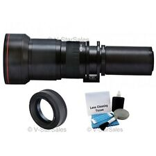 Vivitar 650mm-1300mm Telephoto Zoom Lens for Olympus 4/3 E-450, E-600, E-5