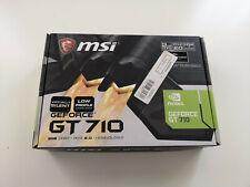 MSI GeForce GT 710 2 Go DDR3 Carte Graphique (V809-2000R)