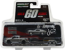GREENLIGHT GONE IN 60 SECONDS 2015 FORD F150 & 1967 MUSTANG ELEANOR 1/64 31030 C