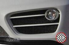 ZunSport Porsche Cayman 981 With Sensors Man/PDK Black Steel Outer Grille Set