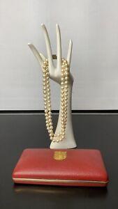 Antique & Vintage Double Strand Pearl Necklace - Majorica Perlas