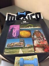 Vintage Eastern Airlines Poster MEXICO Original 40 X 30