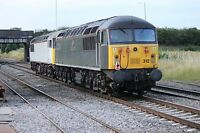 Class 56 56103 & 56312 6x4 Quality British Rail Photo B