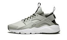 Nike Air Huarache Run Ultra Pale Grey Black Khaki Shoes 819685-009 Mens NEW RARE