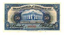 Paraguay ... P-165a ... 50 Pesos Fuertes ... 1923 ... *Gem UNC - *