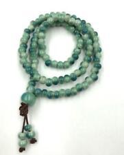 6mm ceramic 108 prayer beads meditation yoga mala men bracelet necklace