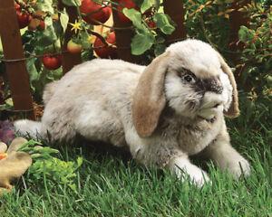 NEW PLUSH SOFT TOY Folkmanis 2892 Holland Lop Rabbit Full Body Hand Puppet
