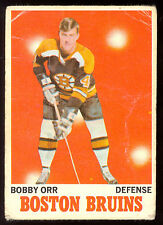 1970 71 OPC O PEE CHEE HOCKEY #3 BOBBY ORR VG COND BOSTON BRUINS CARD