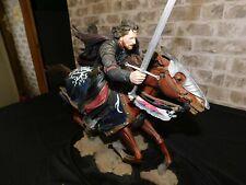 Aragorn at the Black Gates - LotR Polystone Statue SideShow Collectibles -Mib/Nm