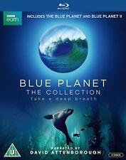 Blue Planet 1 + 2 Complete BBC Series I + II Blu ray Box Set David Attenborough
