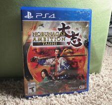 Nobunaga's Ambition: Taishi - PlayStation 4 - CIB