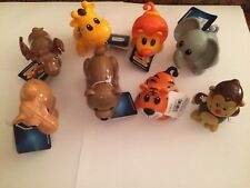Tolo Toys Zoo Animals Figure Assortment Lot # 3 New with Tags 8 Pieces!