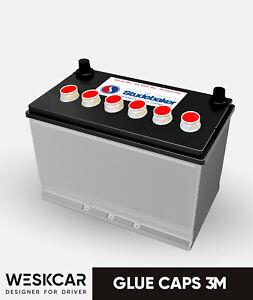 Studebaker Battery (1963-1968 ) Glue Caps kit