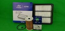 GENUINE HYUNDAI I30 FD SERIES 1.6 L TURBO DIESEL FILTER PACK(OIL + AIR FILTER)