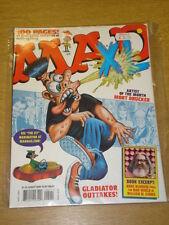 MAD XTRA LARGE #5 2000 AUG NM EC VOLUME US MAGAZINE MORT DRUCKER GLADIATOR