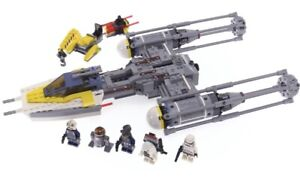 Lego Star Wars Y-Wing Starfighter 75172 100% COMPLETE w Manual & All Minifigures