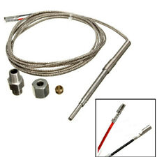 195.5cm K-Type EGT Thermocouple Temperature Sensor For Car SUV Exhaust Gas Probe
