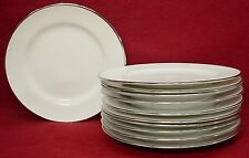 """ROYAL DOULTON china SIMPLY PLATINUM pattern BREAD PLATE 6-1/2"""" set of ELEVEN 11"""