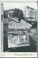 1985 Three Postcards from Switzerland Original Photo