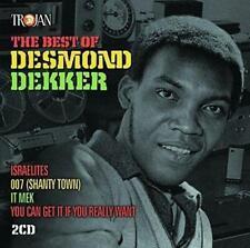DESMOND DEKKER – THE BEST OF DESMOND DEKKER 2CDs (NEW/SEALED) TROJAN