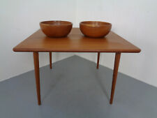 Mid-Century Danish Solid Teak Bowls 1960s