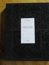 VELOURS A. KRAATZ TISSU ETOFFE TEXTILE COSTUME