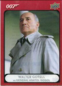 James Bond Villains & Henchmen Acetate Base Card #94 General Anatol Gogol