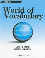 WORLD OF VOCABULARY BLUE LEVEL SE 1996C (GLOBE WORLD OF VOCABULARY), Clements, Z
