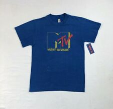 New listing Vintage 80s Mtv Music Television Logo T-shirt