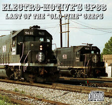 """Train Sounds On CD: Electro-Motive's GP38 - Last of the """"Old Time"""" Geeps"""