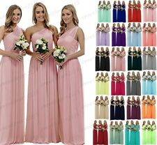 New Chiffon Formal Evening Bridesmaid Dresses Party Ball Prom Gown Dress 6-28+