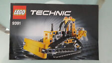LEGO 9391 Technic Raupenkran NUR Bauanleitung Instruction only