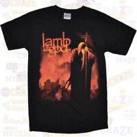 LAMB OF GOD Black Licensed T-Shirt