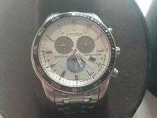 Mens citizen eco drive chronograph watch BL5511-51A vcg