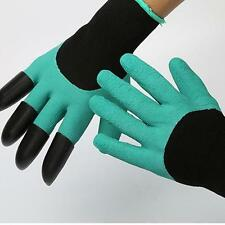 Garden Gloves 1 Pair for Gardening Digging And Planting With 4 Abs Plastic Claws