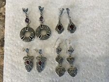Silver, Lot of 4 pair New listing