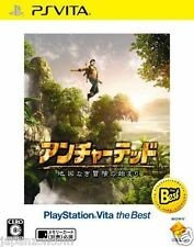 Used PS Vita Uncharted: Golden Abyss SONY PLAYSTATION JAPANESE IMPORT