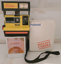 Polaroid 600 Instant Film Camera- McDonalds with Box RARE PROMO TESTED