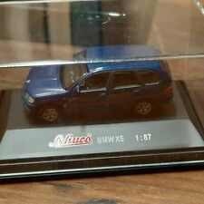 Schuco 1:87 BMW X5 blau metallic  in Box