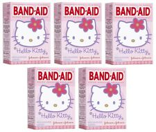 5 Pack - BAND-AID Bandages Hello Kitty Assorted Sizes 20 Each