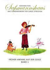 Violine Noten Schule : Früher Anfang auf der Geige 1 (SCHULE) Saßmannshaus